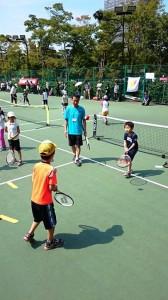 テニスの日