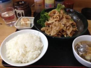 味平 生姜焼き定食__